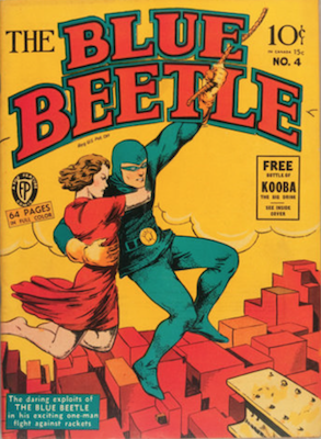 The Blue Beetle #4. Click for current values.
