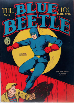 The Blue Beetle #6. Click for current values.