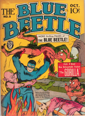 The Blue Beetle #9. Click for current values.