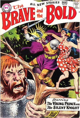 Brave and the Bold #22. Click for current values.