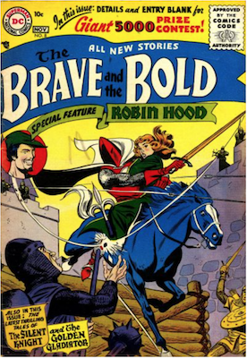 Brave and the Bold #8. Click for current values.