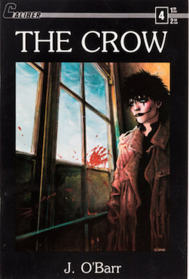 Most valuable comic books of the copper age, The Crow #4 (1989): First printing. Click for values