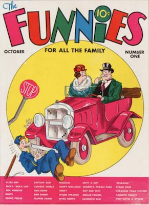 Funnies #1 (1936). Dell Comics. Click for values