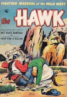 The Hawk comic #8. Click for values