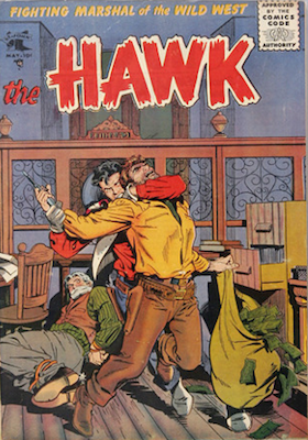 The Hawk #12. Baker cover art. Click for values