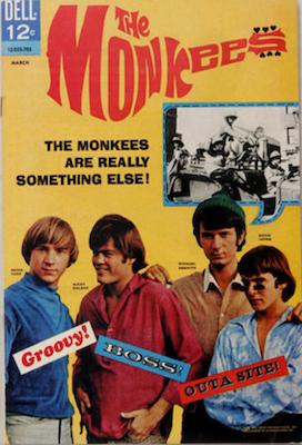 Monkees #1 (1967), Dell Comics. Click for values