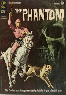 Phantom #1 (1962), Gold Key. Click for values