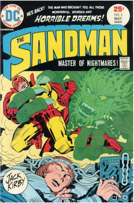 The Sandman #2. Click for values.