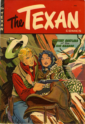The Texan comic #5. Click for values