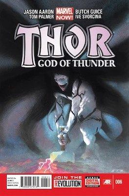 Thor: God of Thunder #6, Knull Identity Revealed. Click for values