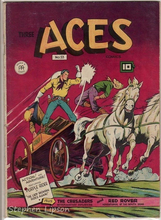 Three Aces Comics #53