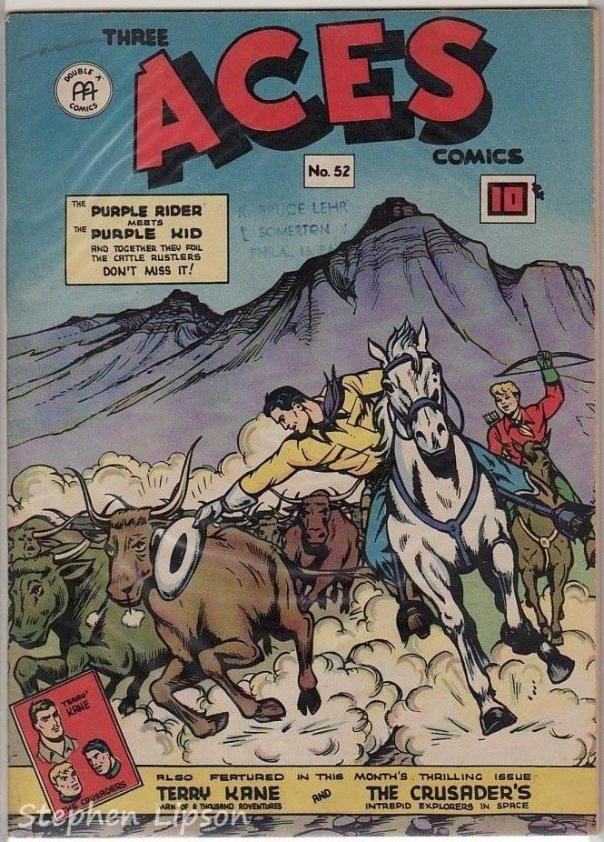 Three Aces Comics #52
