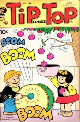 Tip Top Comics #184. Click for values.