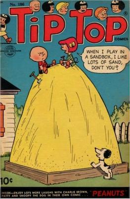 Tip Top Comics #186. Click for values.