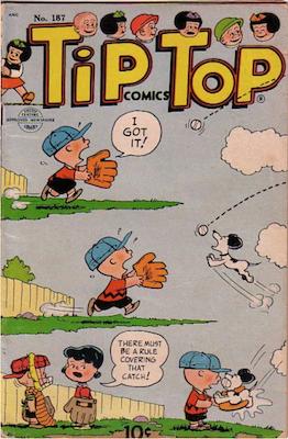 Tip Top Comics #187. Click for values.