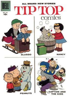 Tip Top Comics #211. Click for values.