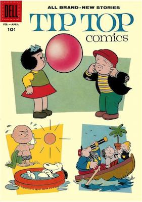 Tip Top Comics #212. Click for values.