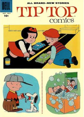 Tip Top Comics #213. Click for values.