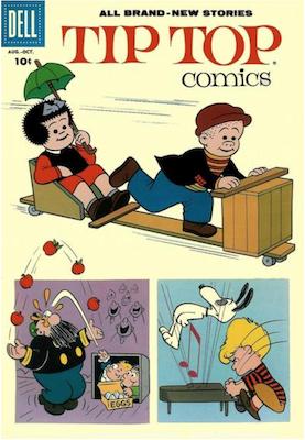 Tip Top Comics #214. Click for values.