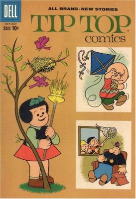Tip Top Comics #221. Click for values.