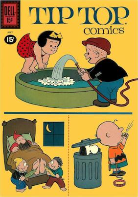 Tip Top Comics #225. Click for values.
