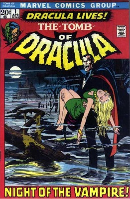 Tomb of Dracula #1 (1972): 1st in Series, Neal Adams cover. Click for value
