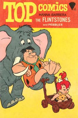 K. K. Publications Top Comics: Flintstones #4 (1967). Click for values