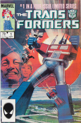 The Transformers #1 (1984): Origin and First Appearance. The Transformers. Click for value
