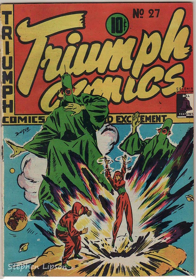 Bell Features Triumph Comics #27