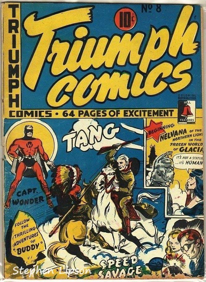 Bell Features Triumph Comics #8