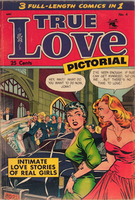 True Love Pictorial #4: Baker cover. Click for values