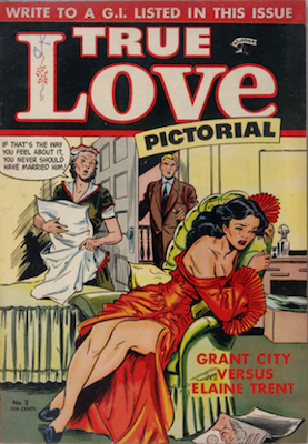True Love Pictorial #2: Matt Baker cover. Click for values