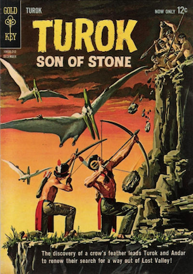 Turok, Son of Stone #30 (1962): Was published by Dell Comics prior to this issue, Gold Key. Click for values