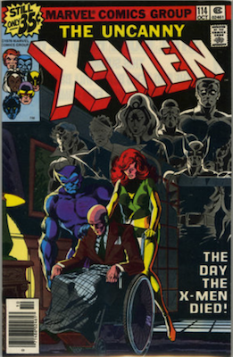 Uncanny X-Men #114, 1st 'Uncanny' in title. Click for values