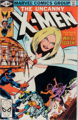 Uncanny X-Men #131, 1st White Queen. Click for values