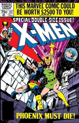 Uncanny X-Men #137: 'Death' of Phoenix. Click for values