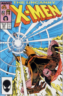Uncanny X-Men #221: 1st Mister Sinister. Click for values