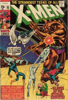 X-Men 65: Return of Professor X. Click for values