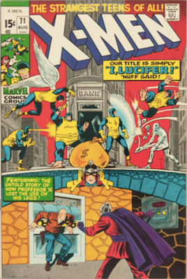 Uncanny X-Men #71. One of the reprint series which ran until #94 relaunched the series. Click for values