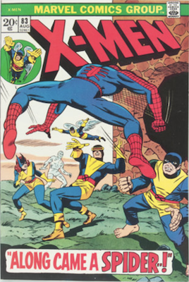 Uncanny X-Men #83. One of the reprint series which ran until #94 relaunched the series. Click for values