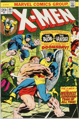 Uncanny X-Men #86. One of the reprint series which ran until #94 relaunched the series. Click for values