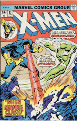 Uncanny X-Men #93. One of the reprint series which ran until #94 relaunched the series. Click for values
