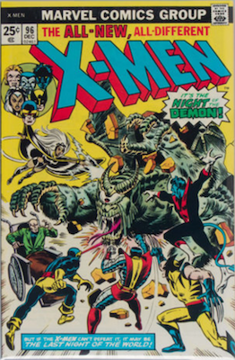 Uncanny X-Men #96: 1st appearance of Moira MacTaggert. Click for values