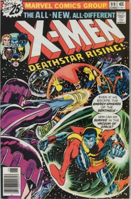 Uncanny X-Men #99, 1st Black Tom Cassidy. Click for values