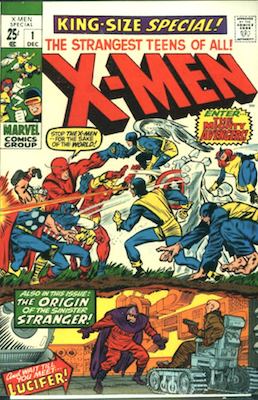 Uncanny X-Men Annual #1. Click for values