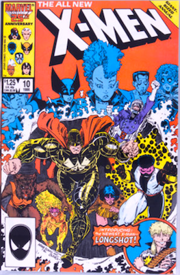 Uncanny X-Men Annual #10: 1st appearance of the X-Babies. Click for values