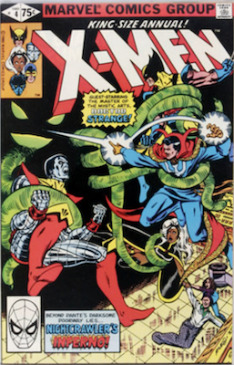 Uncanny X-Men Annual #4. Click for values