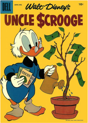 Uncle Scrooge #18. Click for values.