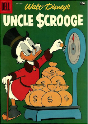 Uncle Scrooge #20. Click for values.