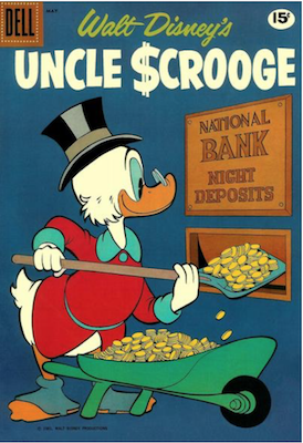 Uncle Scrooge #33. Click for values.